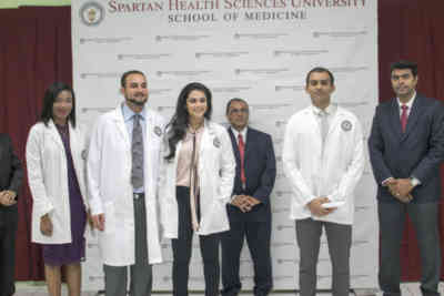 spartan white coat